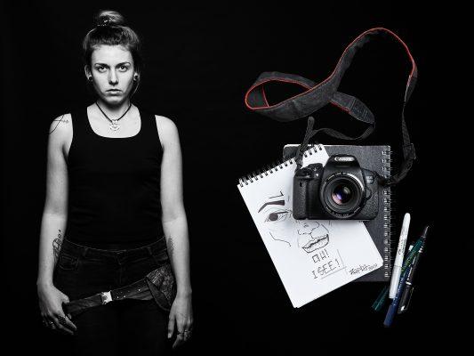 FOTOGRAFIN, FOTOKUNST, FOTOPROJEKT, MEIN LEBEN UND ICH, PORTRAITSERIE SW